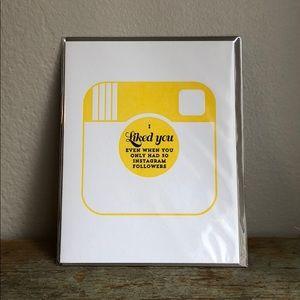 Brand New Greeting Card w/Envelope